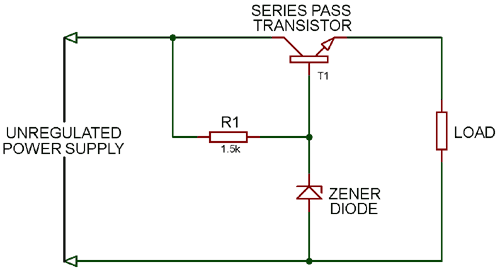 Series Voltage Regulator Circuit