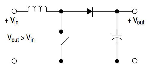 Step Up Voltage Regulator