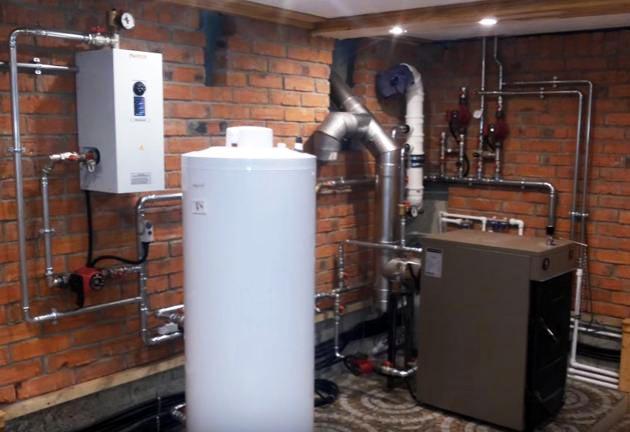 Монтаж твердотопливного котла в частном доме – как поставить и подключить к отоплению