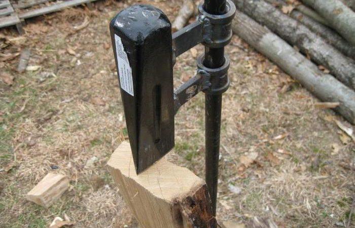 Приспособление для колки дров своими руками – Дровокол своими руками: самодельные варианты, чертежи, изготовление