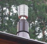 Искрогаситель на трубу дымохода – виды, как сделать и установить на трубу бани своими руками